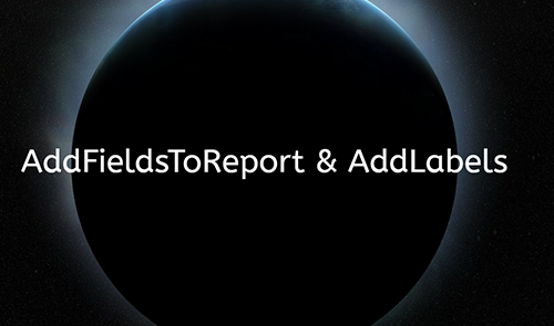 AddFieldsToReport of Advanced-Forms® for Business Central and Navision