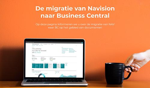 De migratie van Microsoft Dynamics NAV naar Microsoft Dynamics 365 Business Central